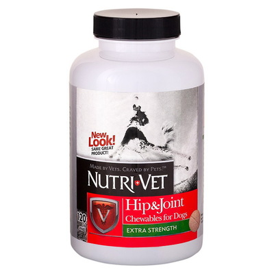 Nutri-Vet® Hip & Join Extra Strength (2 ур.), 120 таб.
