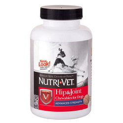 Nutri-Vet® Hip & Join Advanced Strength (3 ур.), 90 таб.