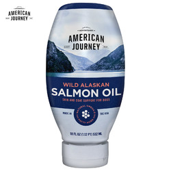 American Journey Wild Alaskan Salmon Oil Liquid Dog Supplement, 532 мл