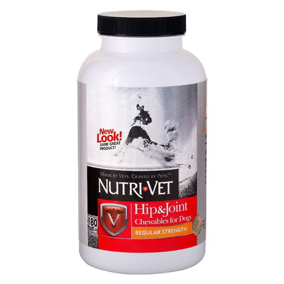 Nutri-Vet® Hip & Join Regular Strength (1 ур.), 180 таб.