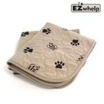 EZwhelp Light Brown 3-ply Paw Print Pad/Mat - L2, 2шт.